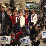 Übergabe der Job-Räder für die Beschäftigten der GSM AG anlässlich des 25jährigen Jubiläums