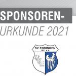 Sponsoren-Urkunde SV Endingen 1921 e.V.